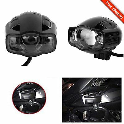 LED Spot Fog Lamp Motorcycle Auxiliary Light with USB Port For BMW Motorbikes UK