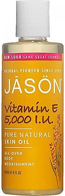 JASON Vitamin E 5,000iu Pure Skin Oil - All Over Body Nourishment 118ml