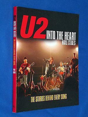 U2 Into the Heart Stories Behind Every Song Niall Stokes UK Edition Bono Book