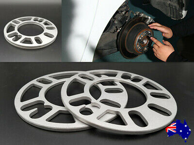 10 mm Wheel Spacers Universal Multi-Fit 4-studs & 5-studs 2PCS For Holden