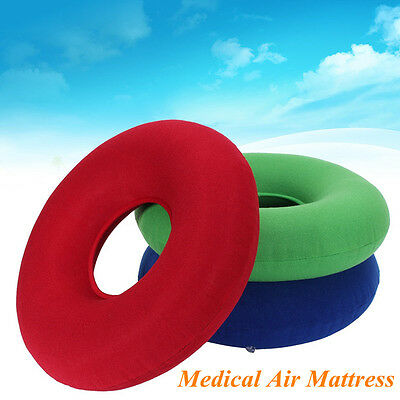 Medical Inflatable Round Ring Seat Cushion With Pump Pillow Pressure Sores Pain