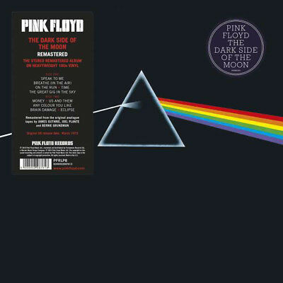 Pink Floyd Dark Side Of The Moon PFR 2016 remastered 180gm vinyl LP g/f