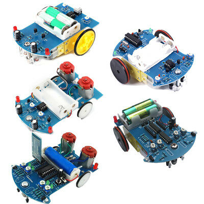 Intelligent Tracking Car Suite DIY Kits DC Motor Electric Accessories DIY DE