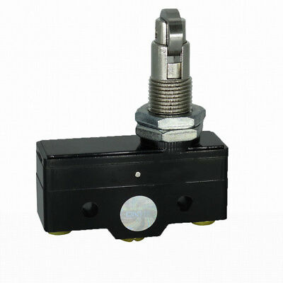 1X Momentary Roller Thread Actuator Micro Limit Switch SPDT 15A