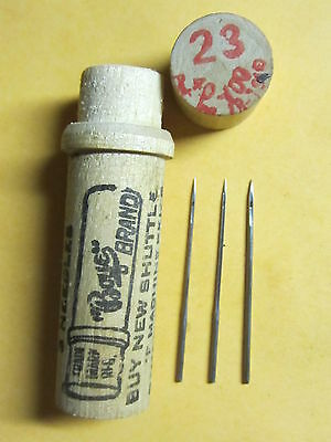 Boye Singer New Family,  Model 12, German TS,  Sewing Machine Needles 12x1