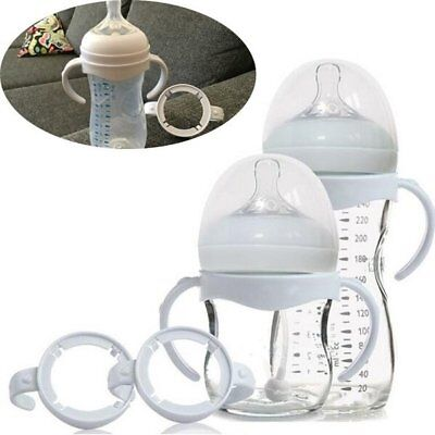 Practical Wide Caliber Bottle Grip Handle for Feeding Baby Bottle Accessories PK