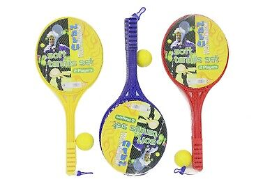 NEW Soft Tennis Set | Kids Outdoor Toys Backyard Beach Garden Games | ihartTOYS