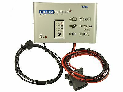 Charging Program Rectifier EXIDE 2100sp 24v 25A / 240£ 0% TAX