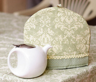 Tea Cosy Lightweight Teapot Cover Pink or Green (B6)