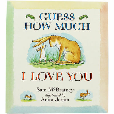 **NEW PB & DVD** Guess How Much I Love You by Sam McBratney