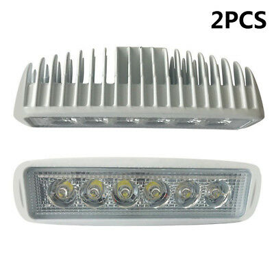 CA Local 6inch Spreader Led Marine Lights (Set of 2) for Boat (Flood Light) 12v
