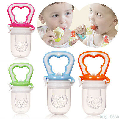 Cute Safety Baby Toddler Teether Chew Toy Molar Rod Silicone Soft Teeth Stick