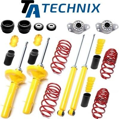 TA-TECHNIX SPORTFAHRWERK 40mm +DOMLAGER +PROTECTION-KIT > VW GOLF 4 / AUDI A3 8L