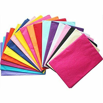 Tissue Paper -High Quality & Acid Free -500mm x 750mm Various Colours & Quantity