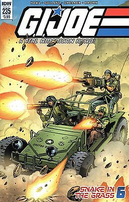 G.I.Joe A Real American Hero Comic 235 IDW 2016 Hama Gallant Shearer Brown