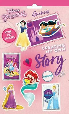 Disney Princess Stickers Book 700 Sticky Picture Sheets TV Character Movie Toys