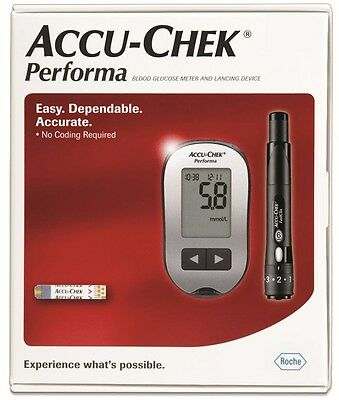 Accu-Chek Performa Blood Glucose Meter Kit - DOES NOT COME WITH LANCET OR STRIPS