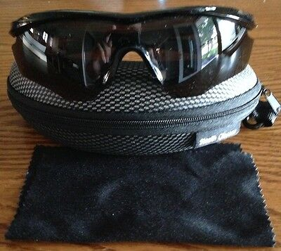 Stealth APACHE 400 Premium Polarized Military Sunglasses - Black Lens - NEW!!