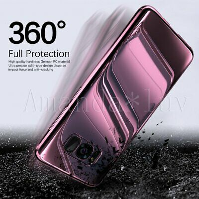 Hybrid 360° Full Slim Hard shockproof Case Cover For Samsung Galaxy S10+/S9 Plus