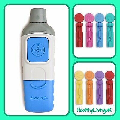 Bayer Microlet 2 Lancing Device + 10 Free Lancets