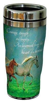 Tree Free Mug 47cl (16 ounce) Travel Tumbler Courage Strength Loyalty