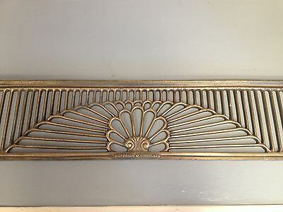Home Decor Wall Art Brass Vent Antique brass Fireplace Grill