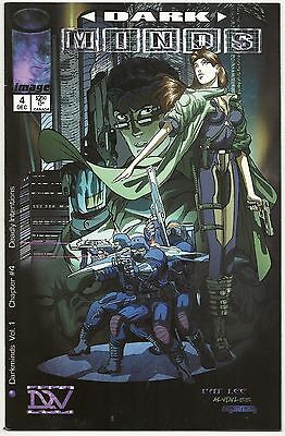 Dark Minds LOT of 6 v1 #4 v2 #1A 1B 3 4 6 1998-2000 Image Comics