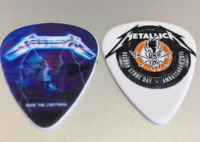 METALLICA 2016 Record Store Day RIDE THE LIGHTNING Guitar Pick