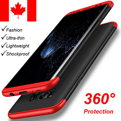 Luxury Slim Shockproof 360 Armor Hard Case Back Cover For Samsung Galaxy S8 S8+