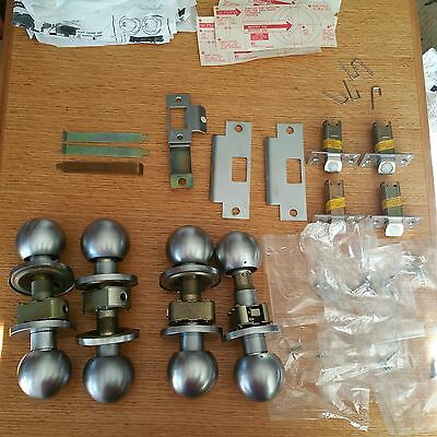 Corbin Door Knobs Strike Plates Latches Parts Lot - Parts Only