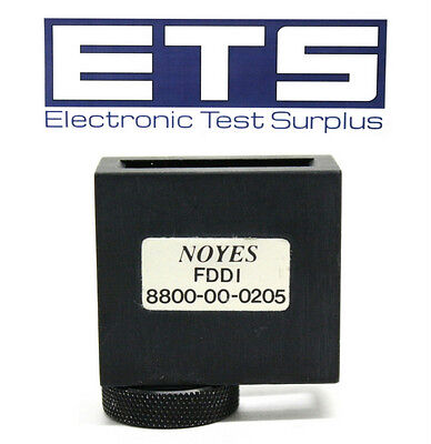 AFL Noyes FDDI 8800-00-0205 Screw-On Adapter Cap For 200X Fiber Scope Probe