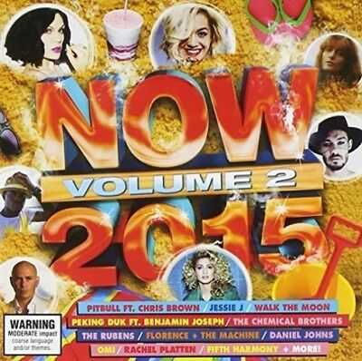 New: VARIOUS ARTISTS: Now 2015 Vol 2 Import Audio CD