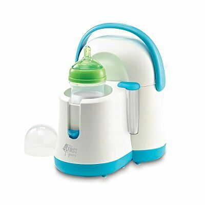 NEW The First Years Night Cravings Bottle Warmer and Cooler Blue White