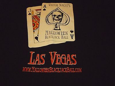 Halloween Blackjack Ball Shirt ( Size XL ) NEW!!!