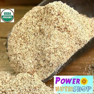 5 LB (80 OZ) ORGANIC Almond Meal / Flour, Natural Unblanched ,ALL NATURAL FRESH