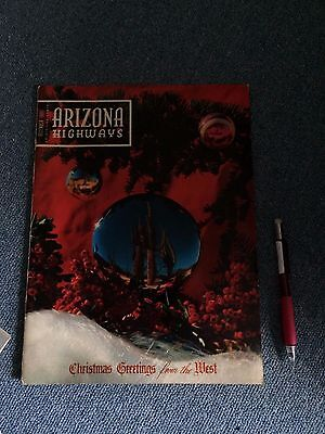 Vintage America Ephemera Arizona Highways December 1955 History