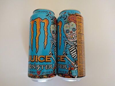 Monster 16 oz. Mango Loco Energy Drink Full Cans
