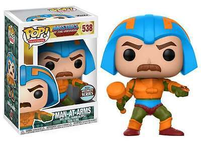 """Funko Motu Masters Universe Pop! Man At Arms 3.75"""" Figure Specialty Exclusive"""