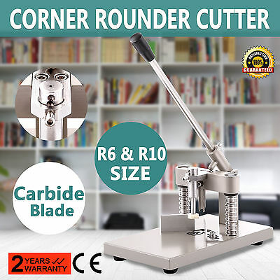 "Corner Rounder Machine Rounding 5 Dies 1/4"" 1/8"" 3/8"" Die HEAVY DUTY card cutter"
