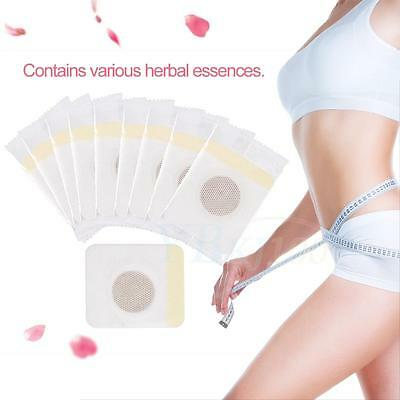 40PCS Navel Stick Slim Patch Sticker Magnetic Weight Loss Burning Fat Body