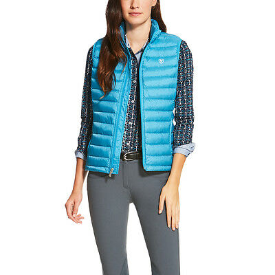 Ariat Ideal Down Vest - Ladies -  BARRIER TEAL - Different Sizes