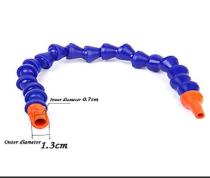 Plastic Water Oil Coolant Pipe Hose Round Nose Adjustable For Lathe Milling CNC