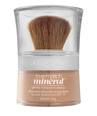 Loreal True Match Gentle Mineral Makeup Foundation Powder - W4-5 Natural Beige