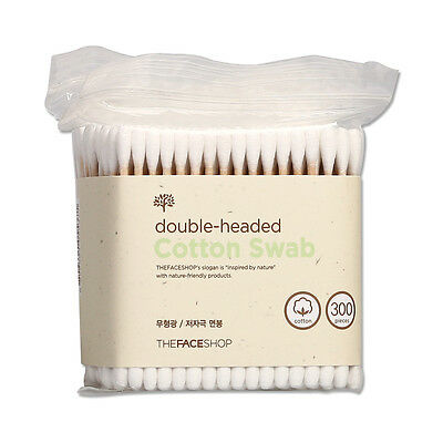 [THE FACE SHOP] Daily Beauty Tools Cotton Swabs - 1pack (300pcs) ROSEAU