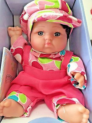 """Small Toddler Baby Doll - 8"""" mini size - Great for holiday decoration"""