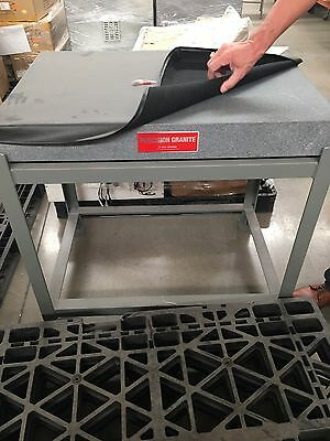 3'x2' Precision Granite Surface Plate with Stationary Stand
