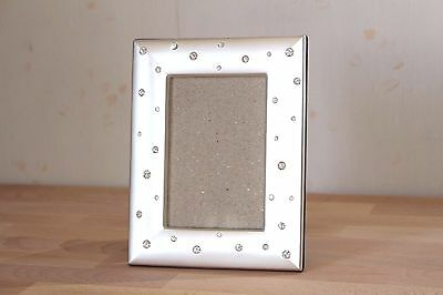 Beautiful!! Picture Frames Silver lame from JAPAN Free Shipping