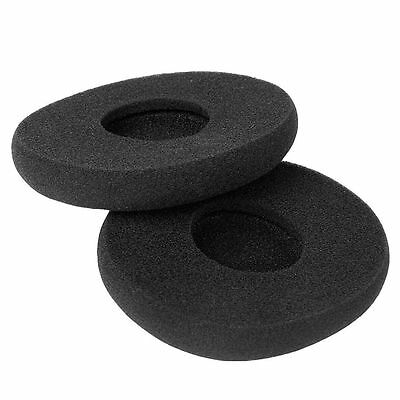 1Pair Replacement Sponge Ear Pads Cushion For Logitech H800 Headphones Black