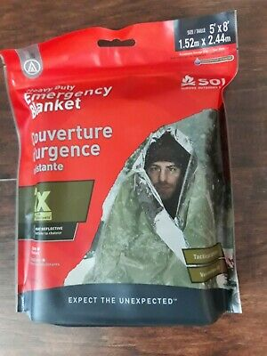 SOL Heatsheets®Heavy Duty  Emergency Survival Space Blanket 0140-1225