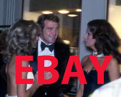 RARE FARRAH FAWCETT Photo #3 Lee Majors and Sophia Loren Charlie's Angels star